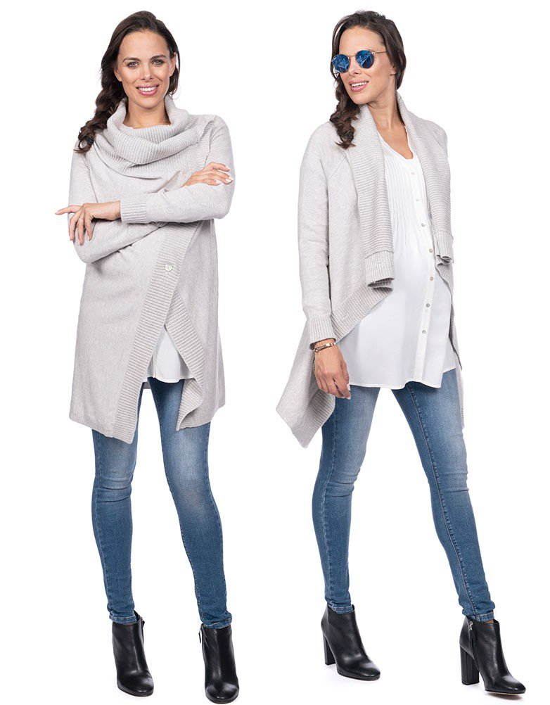 Wrap Cardigan - Nursing & Maternity Clothes
