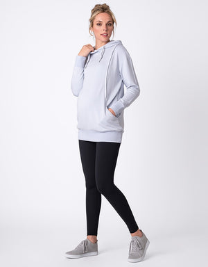 Pocketed Maternity & Nursing Hoodie - Nursing & Maternity Clothes