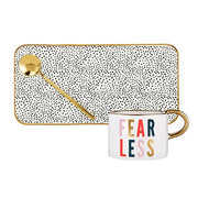 Mug, Tray and Spoon Sets-Mug, Tray and Spoon Set-Slant-Fearless-Blessed Home & Body