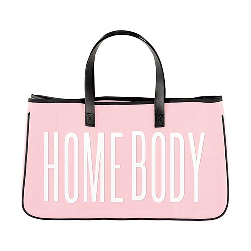 Homebody Canvas Tote-Canvas Tote-Slant-Blessed Home & Body