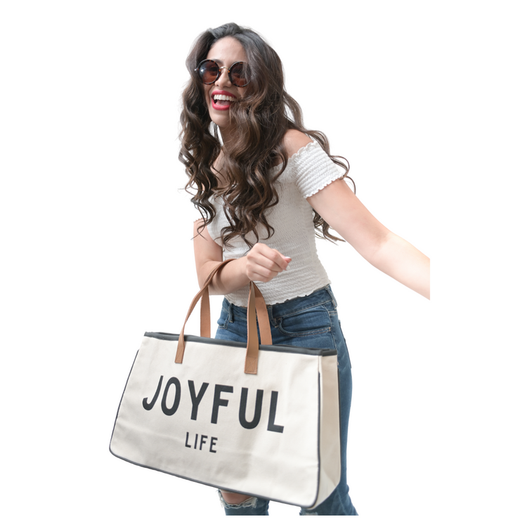 Express Your Faith Canvas Tote-Canvas Tote-Blessed Home & Body-Blessed-Blessed Home & Body