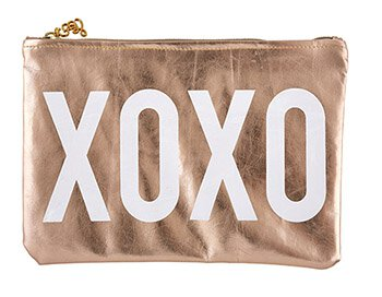 Metallic Pouch-Pouch-Blessed Home & Body-XOXO-Blessed Home & Body