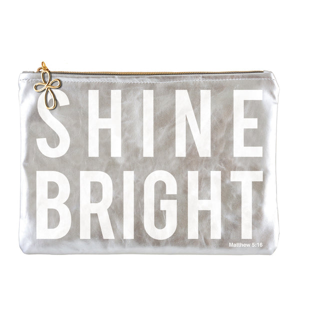 Metallic Pouch-Pouch-Blessed Home & Body-Shine Bright-Blessed Home & Body
