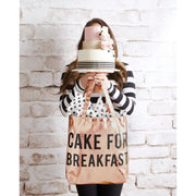 Metallic Rose Gold Tote-Tote Bag-Blessed Home & Body-Cake for Breakfast-Blessed Home & Body