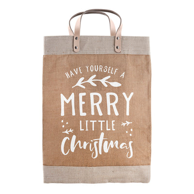 Farmer's Market Merry Christmas Tote-Farmers Market Merry Christmas Tote-Blessed Home & Body-Blessed Home & Body