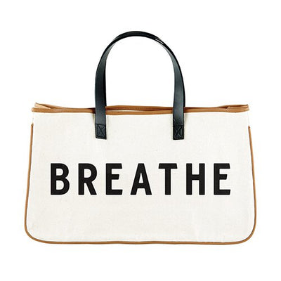 Perfect Weekend Getaway Bag-Tote Bag-Blessed Home & Body-Breathe-Blessed Home & Body