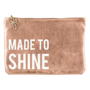 Metallic Pouch-Pouch-Blessed Home & Body-Made To Shine-Blessed Home & Body