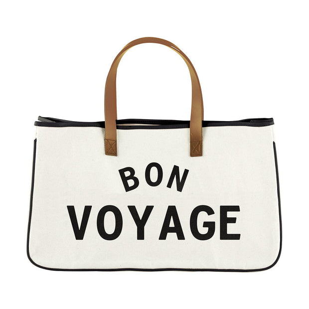 Perfect Weekend Getaway Bag-Tote Bag-Blessed Home & Body-Bon Voyage-Blessed Home & Body