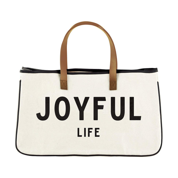 Express Your Faith Canvas Tote-Canvas Tote-Blessed Home & Body-Joyful Life-Blessed Home & Body