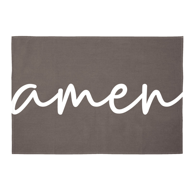 Tea Towels-Tea Towels-Blessed Home & Body-Amen-Blessed Home & Body