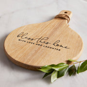 Bless This Home Wooden Cheese Board Set-Wooden Cheese Board-Blessed Home & Body-Blessed Home & Body