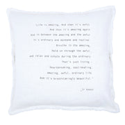 Big Comfy Sofa Pillows-Pillow-Blessed Home & Body-Life Is Amazing-Blessed Home & Body