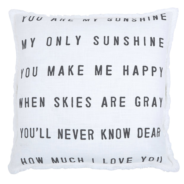 Big Comfy Sofa Pillows-Pillow-Blessed Home & Body-You Are My Sunshine-Blessed Home & Body