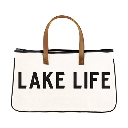 Perfect Weekend Getaway Bag-Tote Bag-Blessed Home & Body-Lake Life-Blessed Home & Body