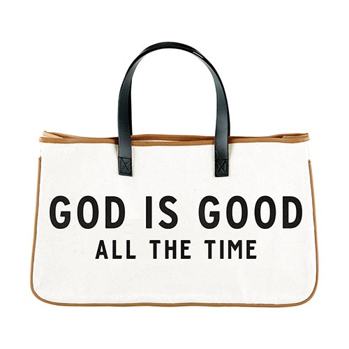 Express Your Faith Canvas Tote-Canvas Tote-Blessed Home & Body-God is Good-Blessed Home & Body