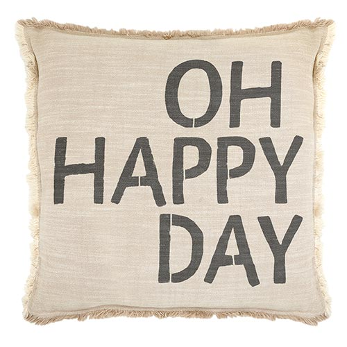 Big Comfy Sofa Pillows-Pillow-Blessed Home & Body-Oh Happy Day-Blessed Home & Body