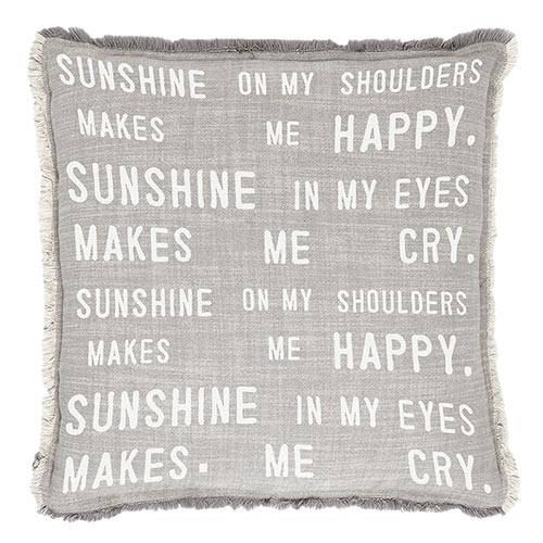 Big Comfy Sofa Pillows-Pillow-Blessed Home & Body-Sunshine on My Shoulders-Blessed Home & Body