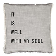 Big Comfy Sofa Pillows-Pillow-Blessed Home & Body-It Is Well-Blessed Home & Body
