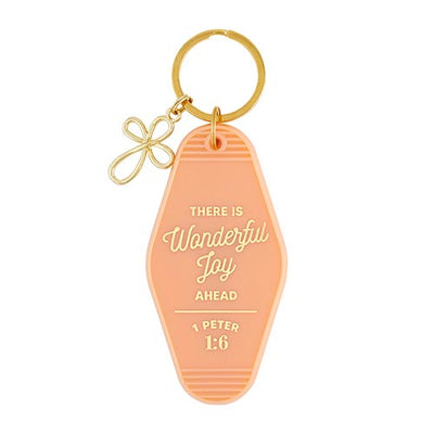 Scripture Keytags-Scripture Key Tags-Faithworks-Wonderful Joy-Blessed Home & Body