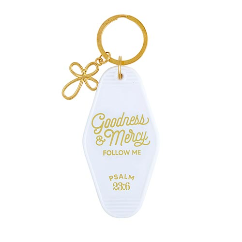 Scripture Keytags-Scripture Key Tags-Faithworks-Goodness and Mercy-Blessed Home & Body