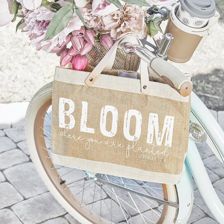 Bloom Mini Market Tote-Farmer's Market Mini-Tote Bag-Blessed Home & Body-Blessed Home & Body