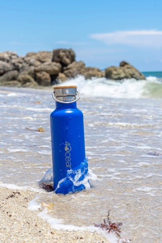 4ocean Insulated Water Bottle: Remove Trash From the Ocean