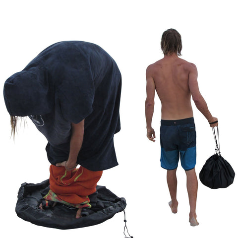 Durable Wetsuit Changing Mat & Waterproof Dry-Bag