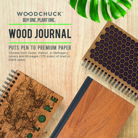 WOODCHUCK Classic Wood Journal