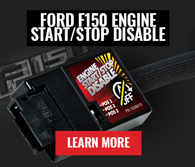 Ford F150 Engine Start/Stop Disable