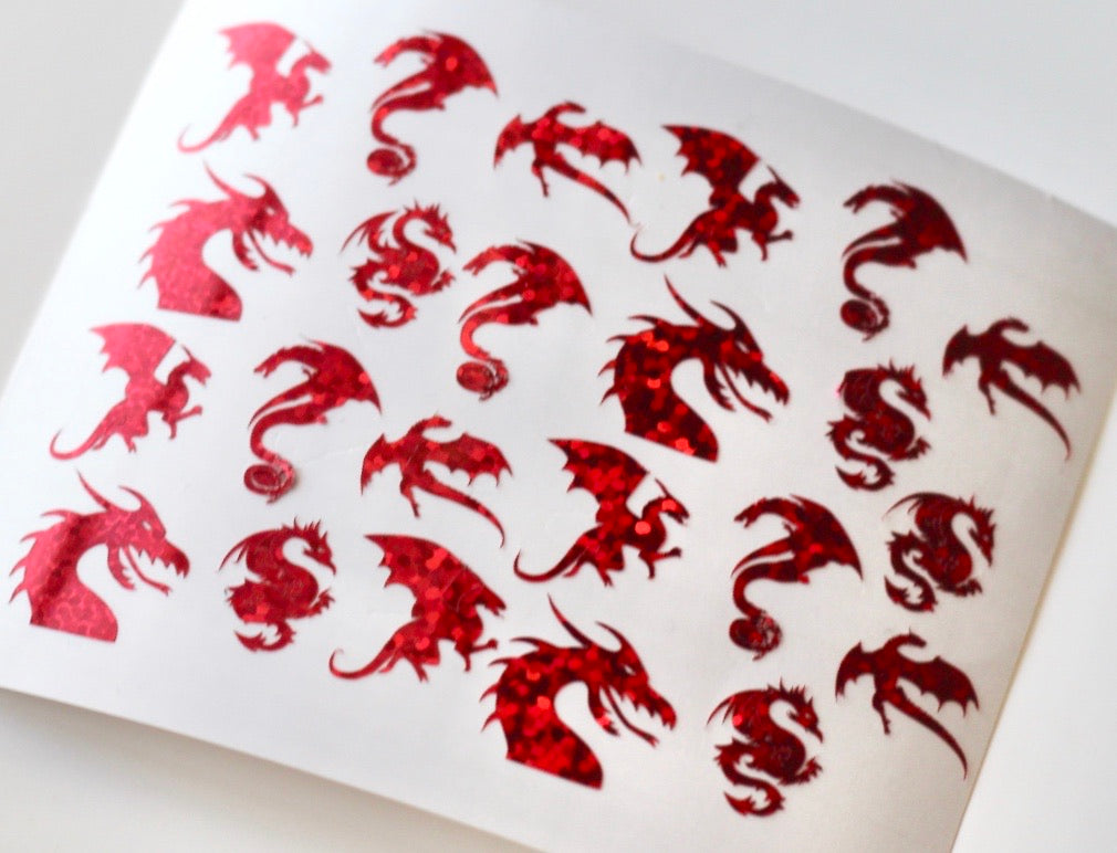 Dragon Nail Stickers