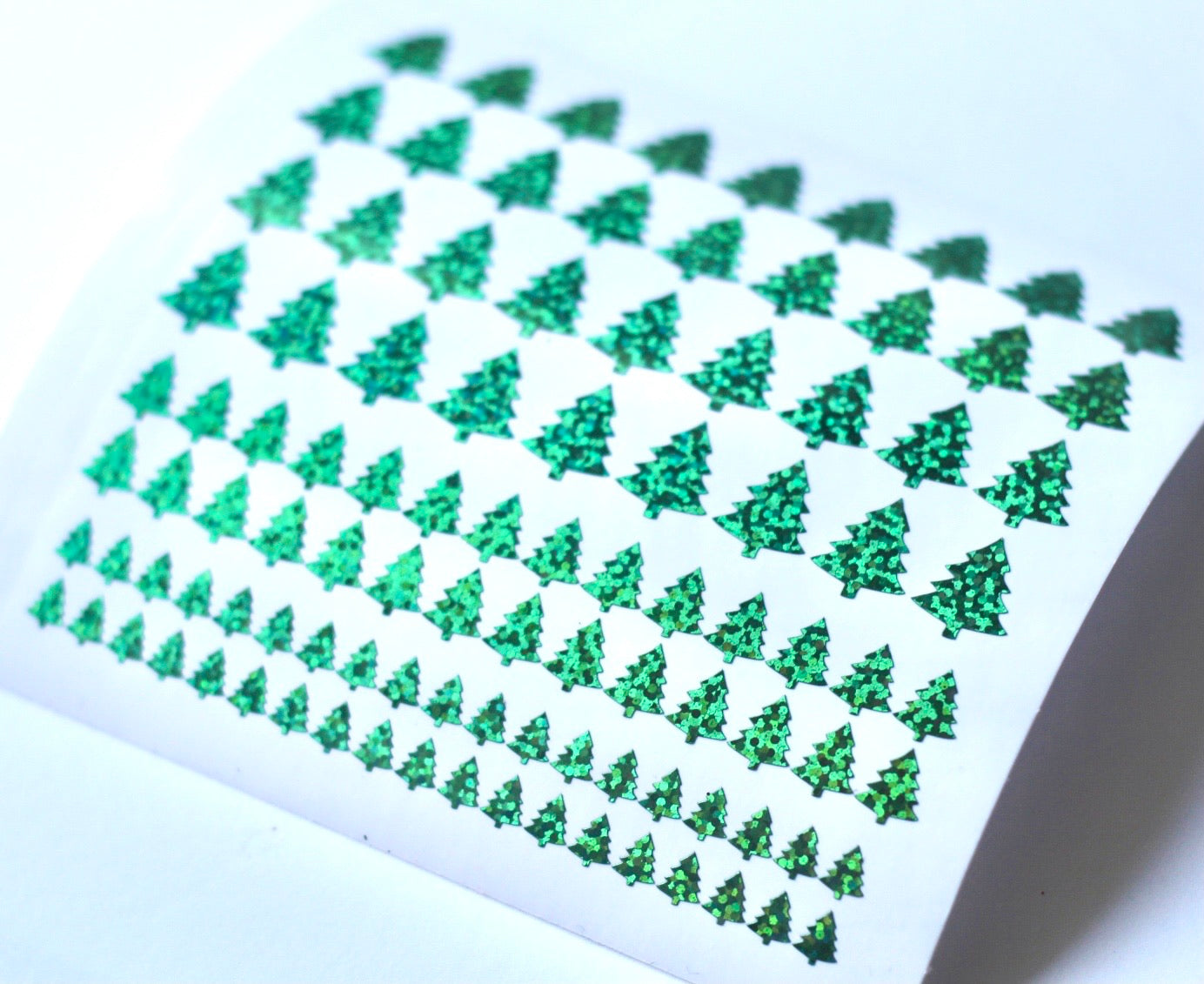Christmas Tree Nail Stickers