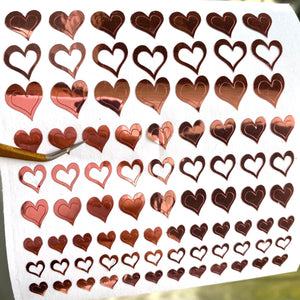 Animated hearts
