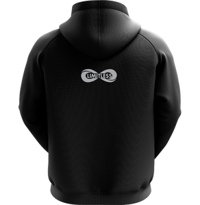 LIMITLESS Adult Performance Hoodie - Solar Charcoal Gray