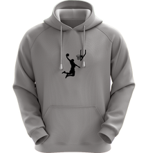 Load image into Gallery viewer, Dunk Man - Universal Youth Performance Hoodie - Stone Gray