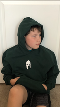 Load image into Gallery viewer, Universal Youth Performance Hoodie - Hunter Green