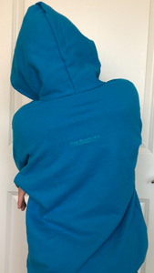 Universal Youth Performance Hoodie - Ocean Blue