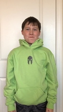 Load image into Gallery viewer, Universal Youth Performance Hoodie - Lime Green