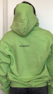 Universal Youth Performance Hoodie - Lime Green