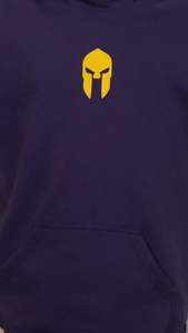Universal Youth Performance Hoodie - Viking Purple