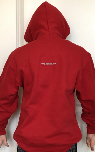 Universal Youth Performance Hoodie - Bright Red