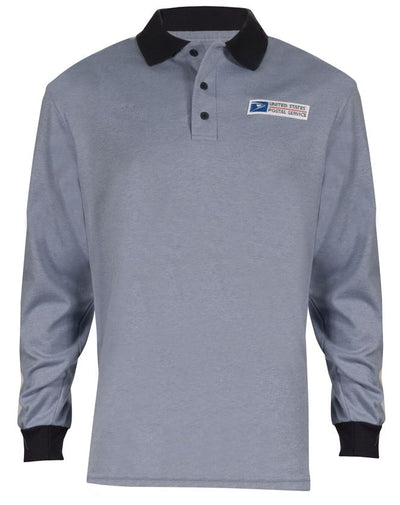 Postal Retail Clerk Long Sleeve Knit Polo