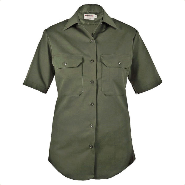 LA County Sheriff Women's Poly/Cotton Short Sleeve Shirt