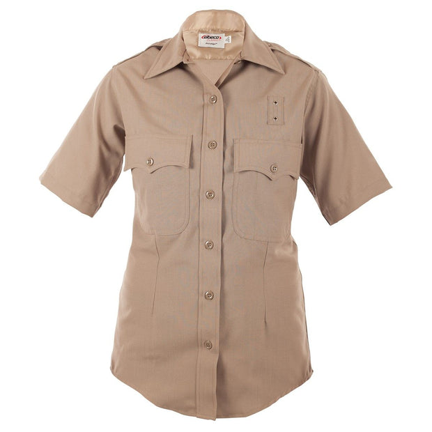 LA County Sheriff and California Highway Patrol Women's Short Sleeve Poly/Wool Shirt