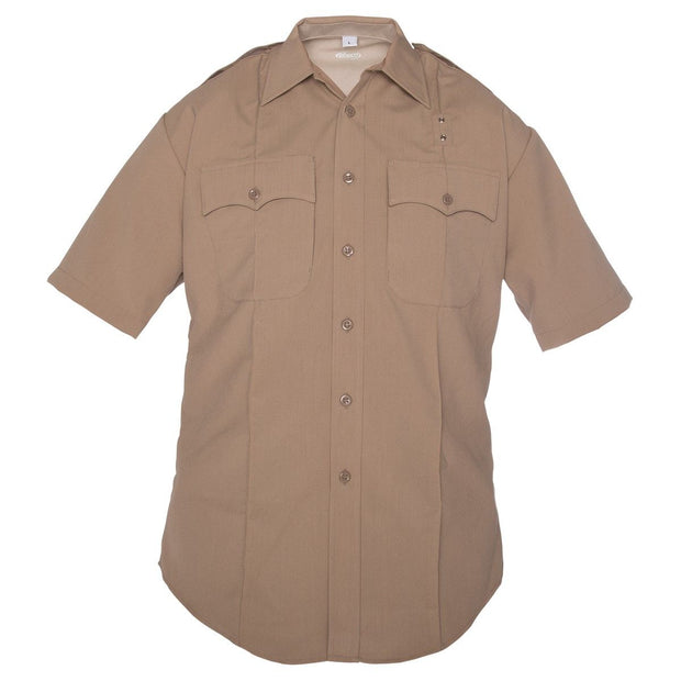 DutyMaxx™ West Coast Short Sleeve Poly/Rayon Stretch Shirt
