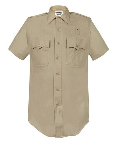 LA County Sheriff  and California Highway Patrol Short Sleeve Heavyweight Poly/Wool Shirt