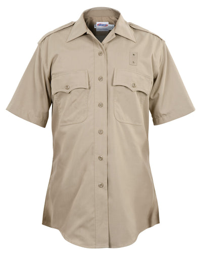 California Highway Patrol Women's Poly/Rayon Short Sleeve Shirt
