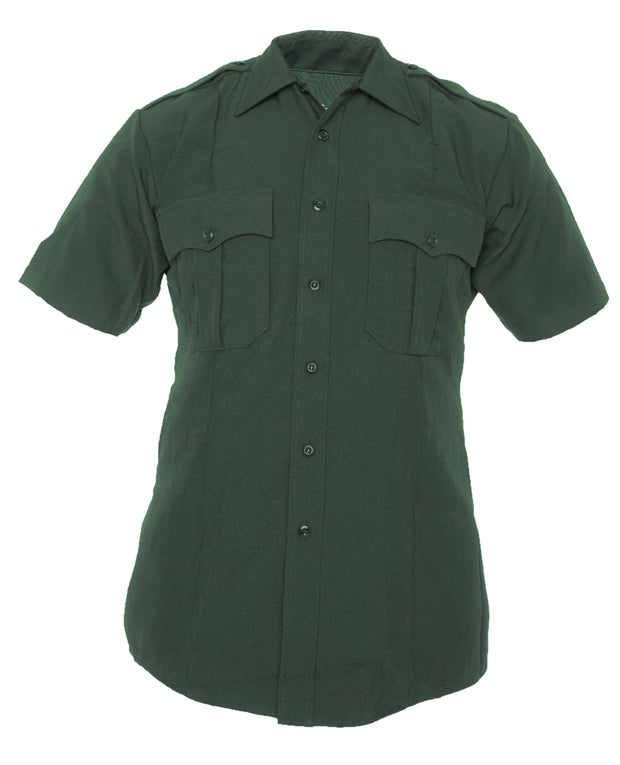 TexTrop2™ Zippered Short Sleeve Polyester Shirt