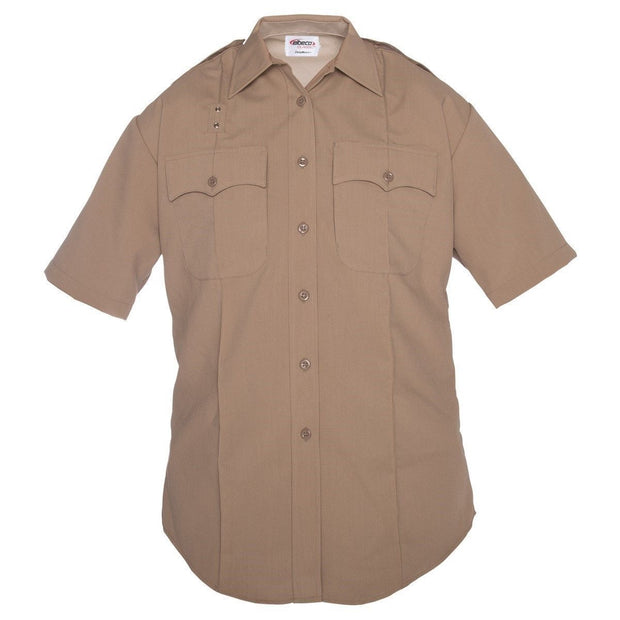 DutyMaxx™ Women's West Coast Short Sleeve Poly/Rayon Stretch Shirt