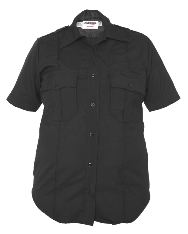 Distinction™ Women's Short Sleeve Poly/Wool Shirt
