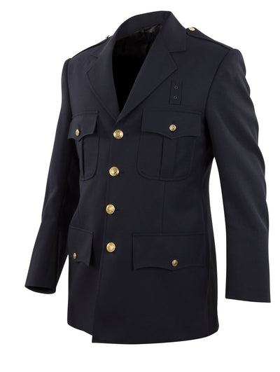 Top Authority Polyester Single-Breasted Blousecoat